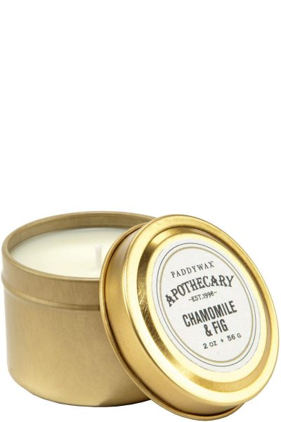 Paddywax Apothecary Chamomile & Fig Travel Candle