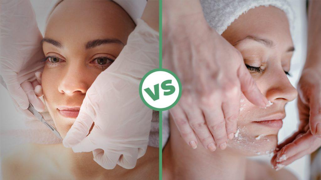 Dermaplaning vs. Microdermabrasion